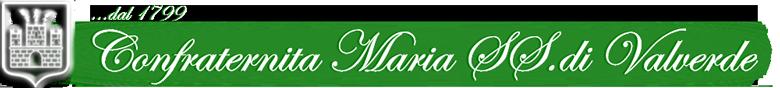 Confraternita Maria SS di Valverde